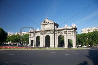 Alcala Gate square