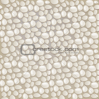 Seamless gray pebble pattern