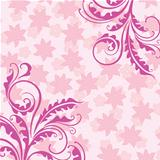 Decorative pink floral background