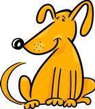 cartoon doodle of funny dog