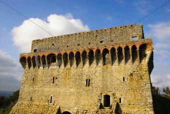 Castle tower, Ourem, Portugal