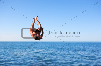 Somersault Above Sea