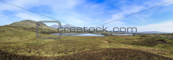rannoch moor panorama highlands scotland