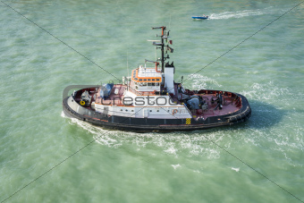 Tug Boat Venice Italy