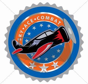 Aero commemorative label