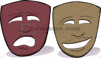 African Drama Masks