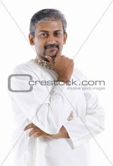 Traditional Indian man