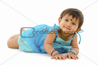 Indian baby girl