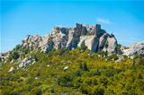 Les Baux de Provence Cliffs Ruins H