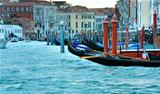  Venice view with gondolas