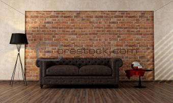 vintage livingroom