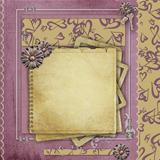 Vintage background  for congratulations and invitations with spa