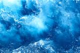 blue sea texture background