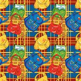 Seamless pattern-bags