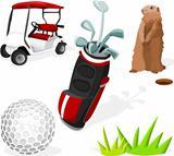 Golf Set 01