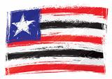 Grunge Maranhao flag
