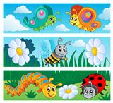 Bugs banners collection 1