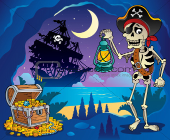 Pirate cove theme image 2