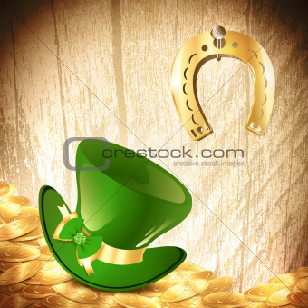St.Patrick holiday background