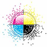 Creative CMYK design