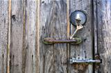 Old Keys, Lock, Latch and Handle