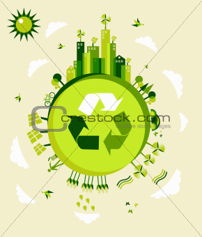 Green Earth illustration