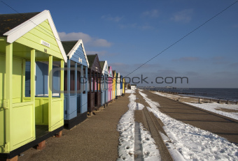 A Winter's Day at Southwold, Suffolk, England
