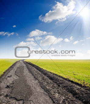 road to hazy horizon