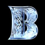 Illustration of Celtic alphabet letter B