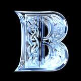 Illustration of Celtic alphabet letter B