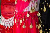 Belly dance costume details