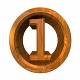 3d number 1 in wood