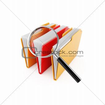 Folder search