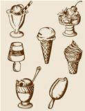 Vintage ice cream