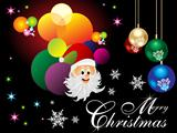 abstract colorful christmas wallpaper