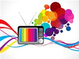abstract colorful media background