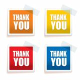 Thank you tag colour