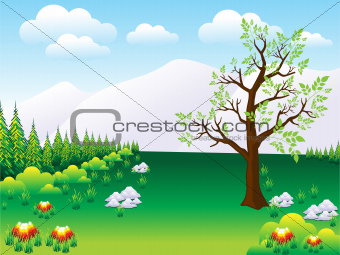 abstract nature background template