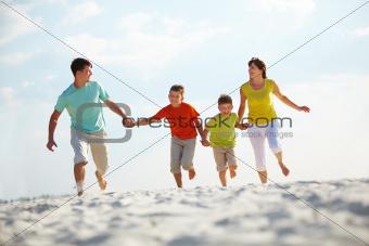 Family runnin