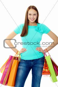 Happy consumer