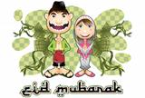Moslem islam eid mubarak celebration day