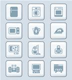 Home electronics icons | TECH series