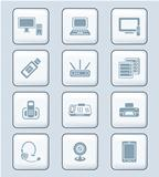 Office electronics icons | TECH series