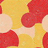 Autumn circle waves
