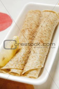 Take-away pancake