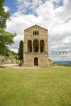 Santa Maria del Naranco front