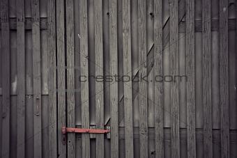 gray wooden doo