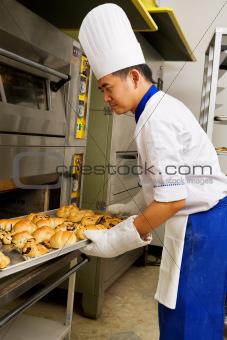 Fresh sweet bread