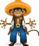 monkey sheriff