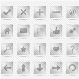 Transparent Glass Icons